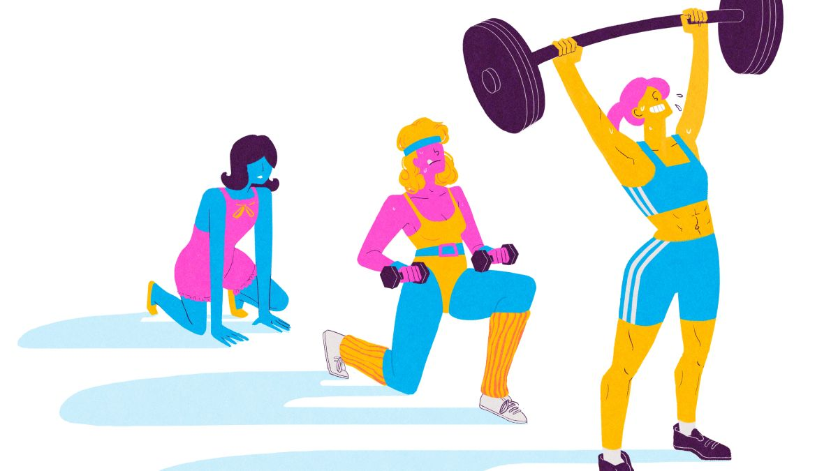 1960 s excersise clipart clipart images gallery for free.
