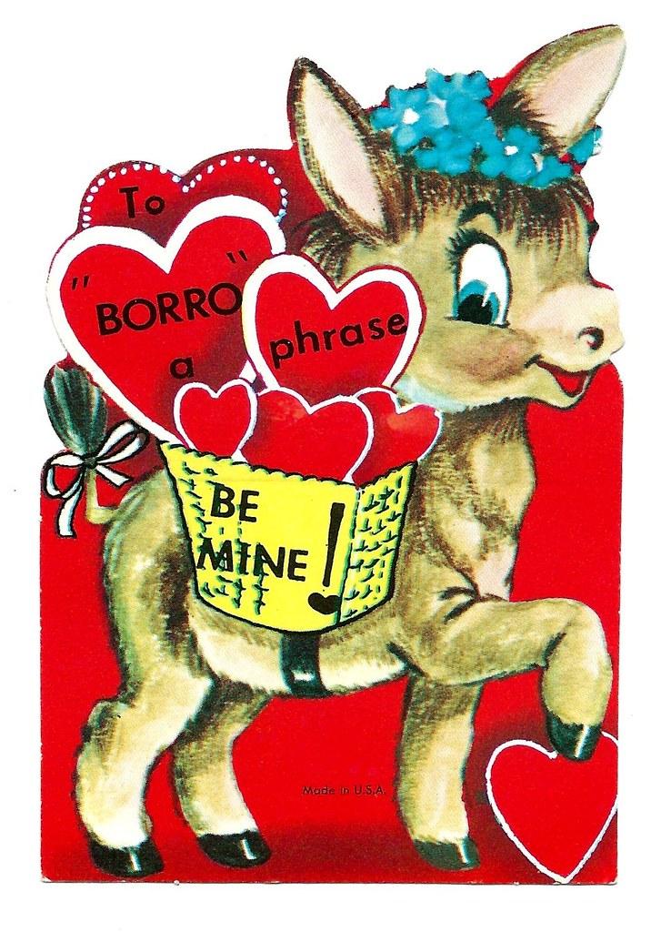 Vintage Child\'s Valentine.