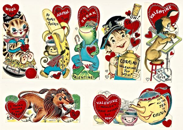 1960s Children\'s Valentines.