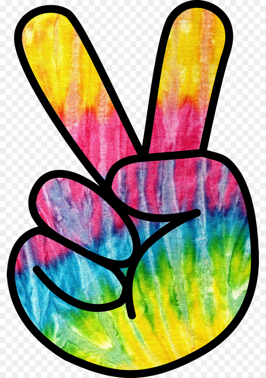 Hippie PNG 1960s Clipart download.