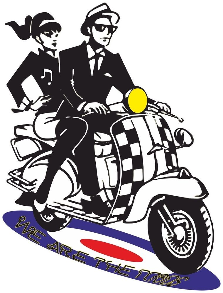 Retro British 1960s Mods Ska Style Clothing Scooter Reggae.