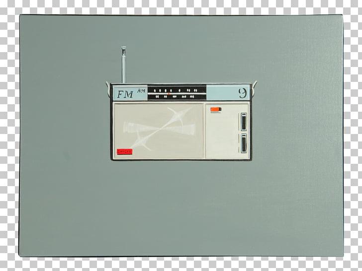 Transistor radio 1960s, radio PNG clipart.