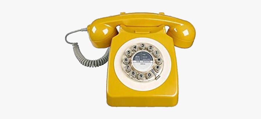rotaryphone #vintage #vintagephone #yellow #pngs #png.