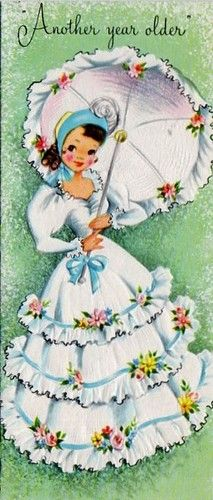 vintage Birthday card.