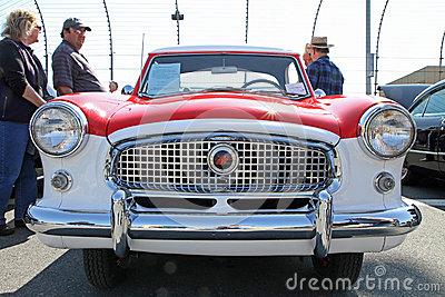 Nash Metropolitan 1961 At Car Show Editorial Photo.