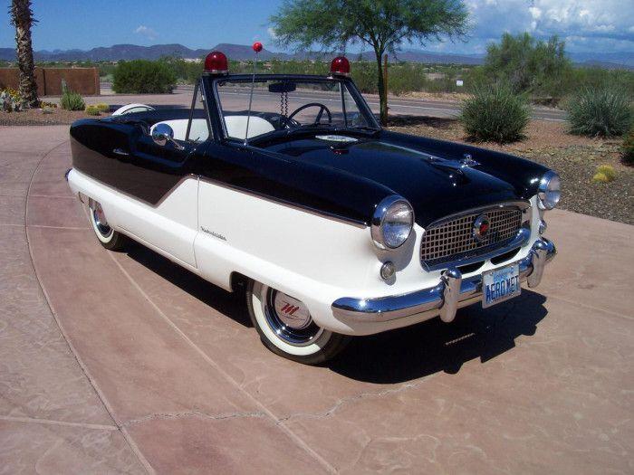 1961 Nash Metropolitan Convertible Police Car.