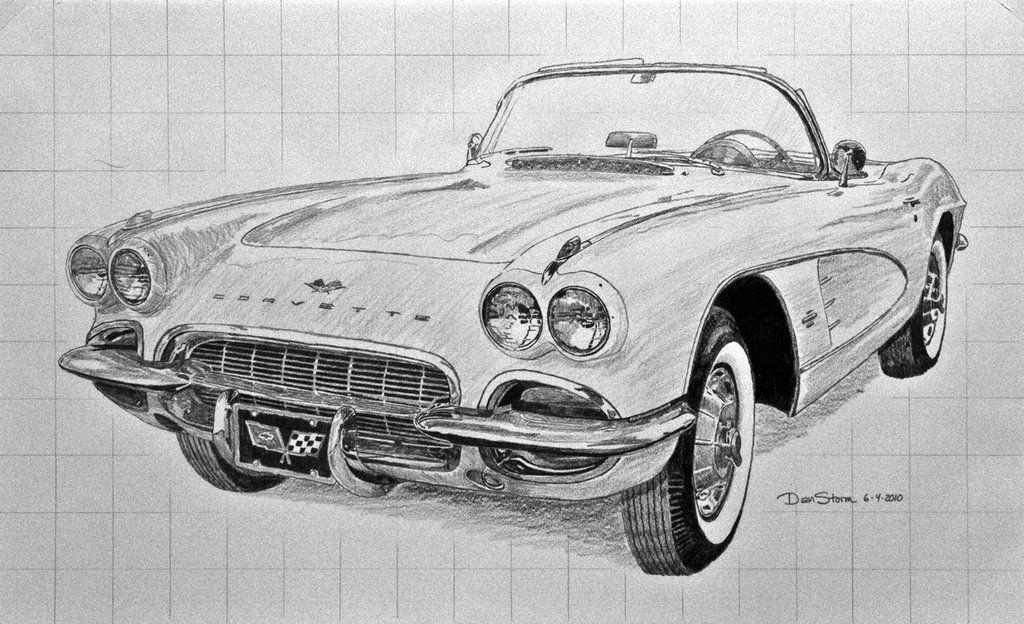 1962+Corvette+Sketch+by+Daniel.