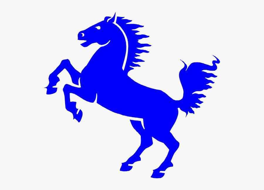 Rearing Mustang Svg Clip Arts.