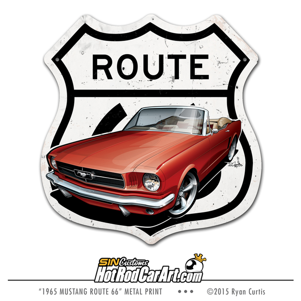 1965 Mustang.