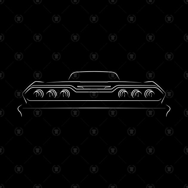 1963 Chevy Impala.