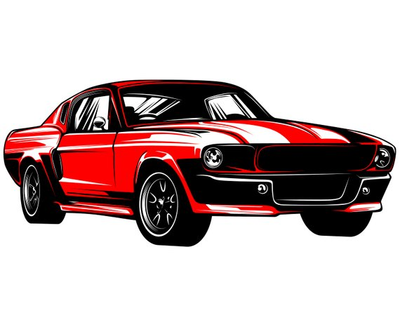 Ford mustang SVG, Mustang SVG, Hot rod svg, 1967, Muscle car.