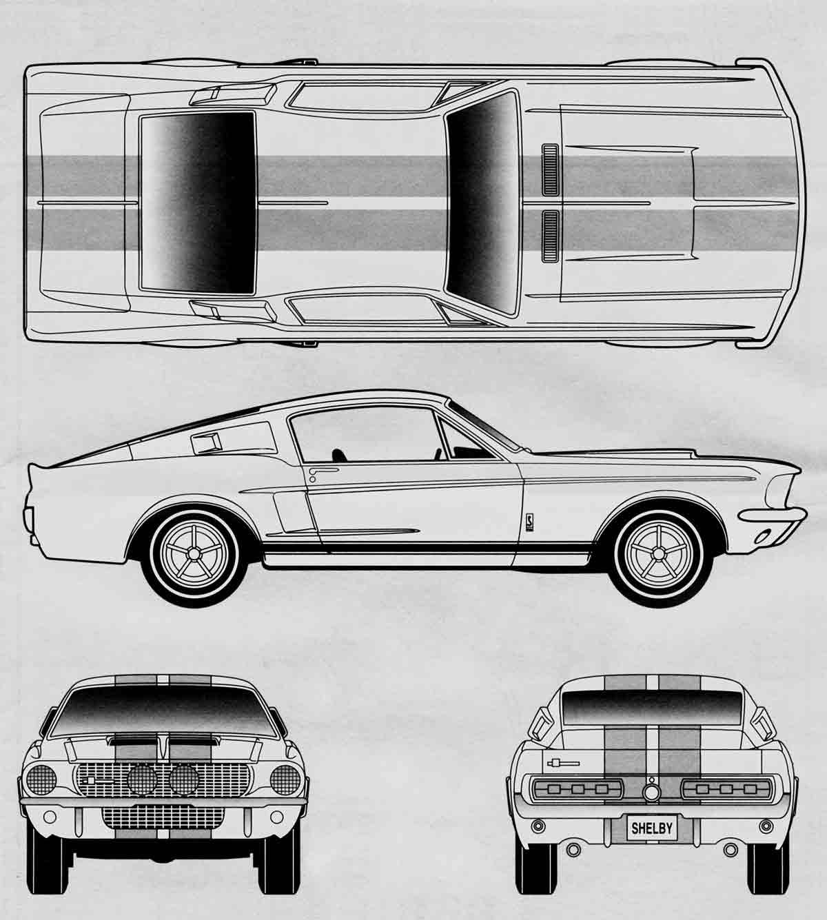 1964 mustang back clipart view clipart images gallery for.