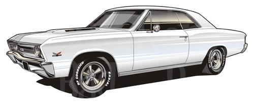 1966 Chevelle Clipart.