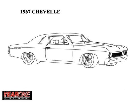 1967 Chevelle.