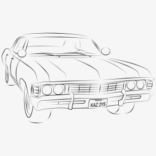 Impala Drawing Classic.