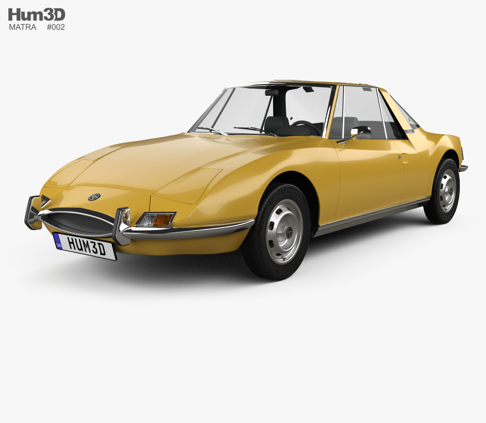 Matra 530 1967 3D model.