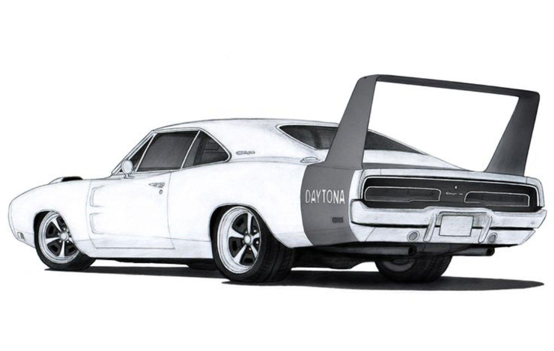 2017 ♡ RESTFUL DRAWINGS ) ☞ Dodge Daytona..