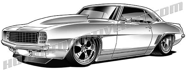 1969 Muscle Car Custom.