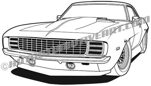 1969 Muscle Car Lowered #1.
