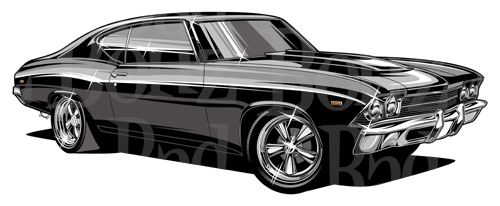 Chevy Chevelle Clipart.