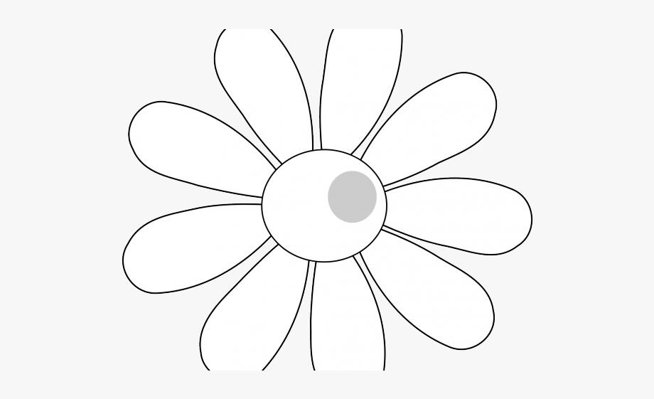 White Flower Clipart Spring.