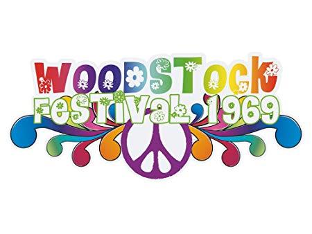 Graz Design Wall Stickers Music/Festival Woodstock 1969.