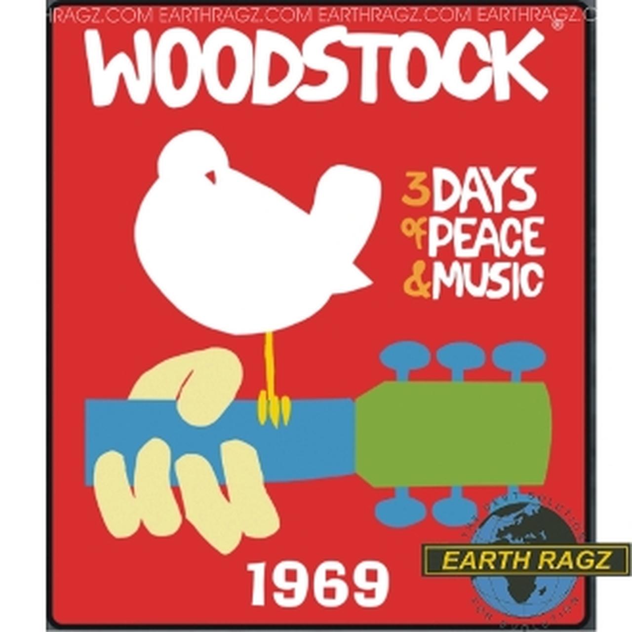 WOODSTOCK 1969 POSTER THROW.