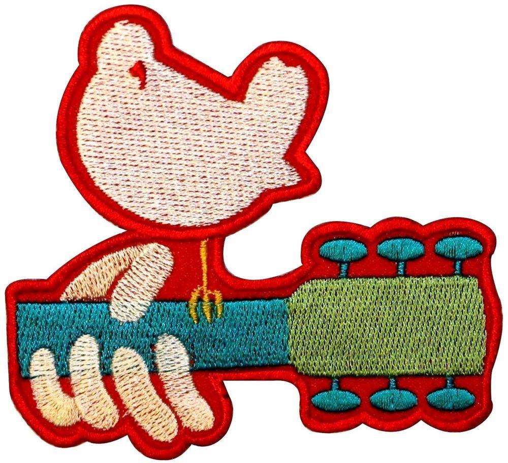 Details about Woodstock Festival Peace Love & Music Dove.