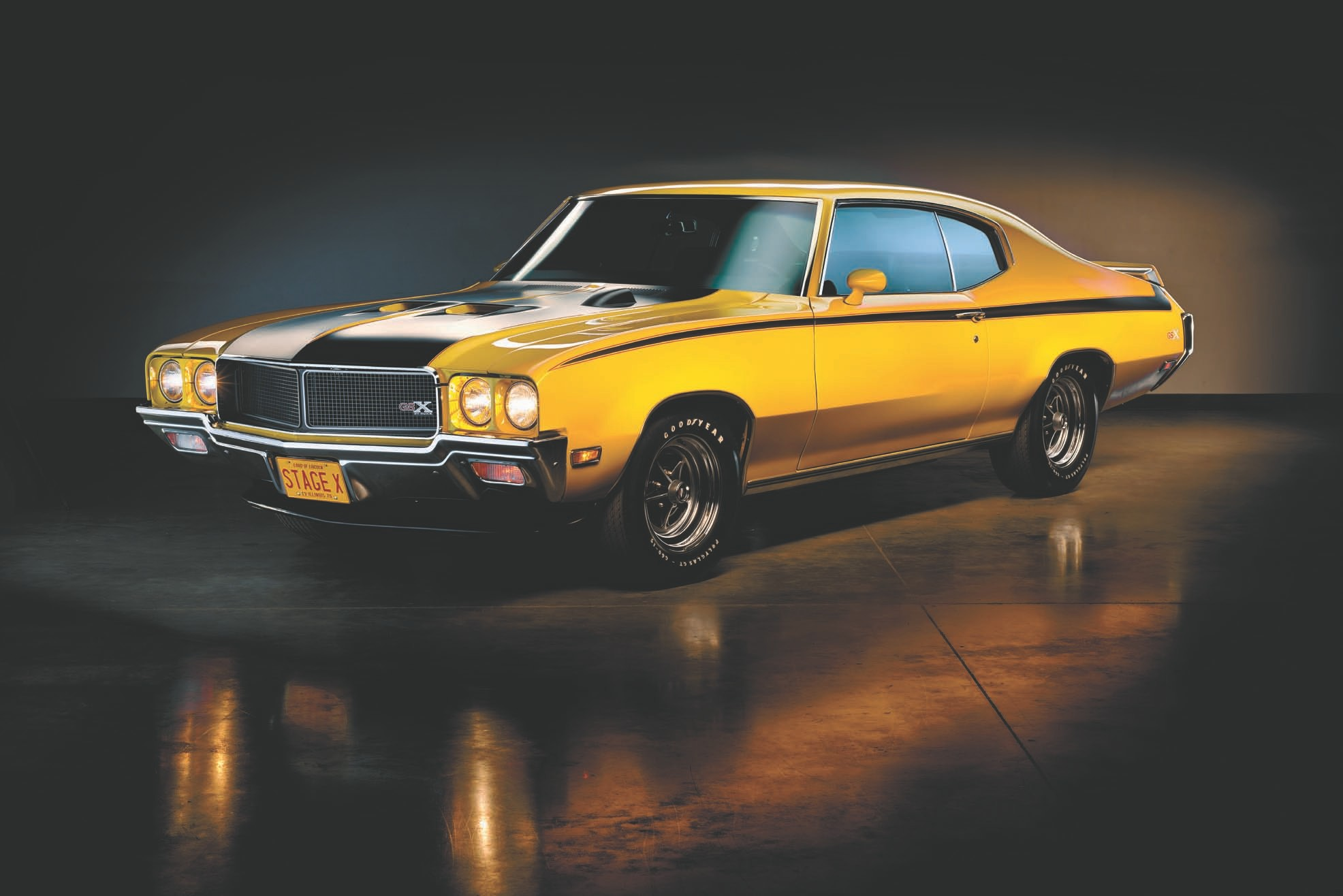 The 1970 Buick GSX.