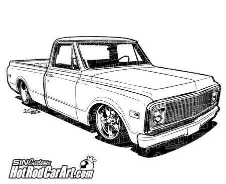 1970 Chevrolet C10 Truck.