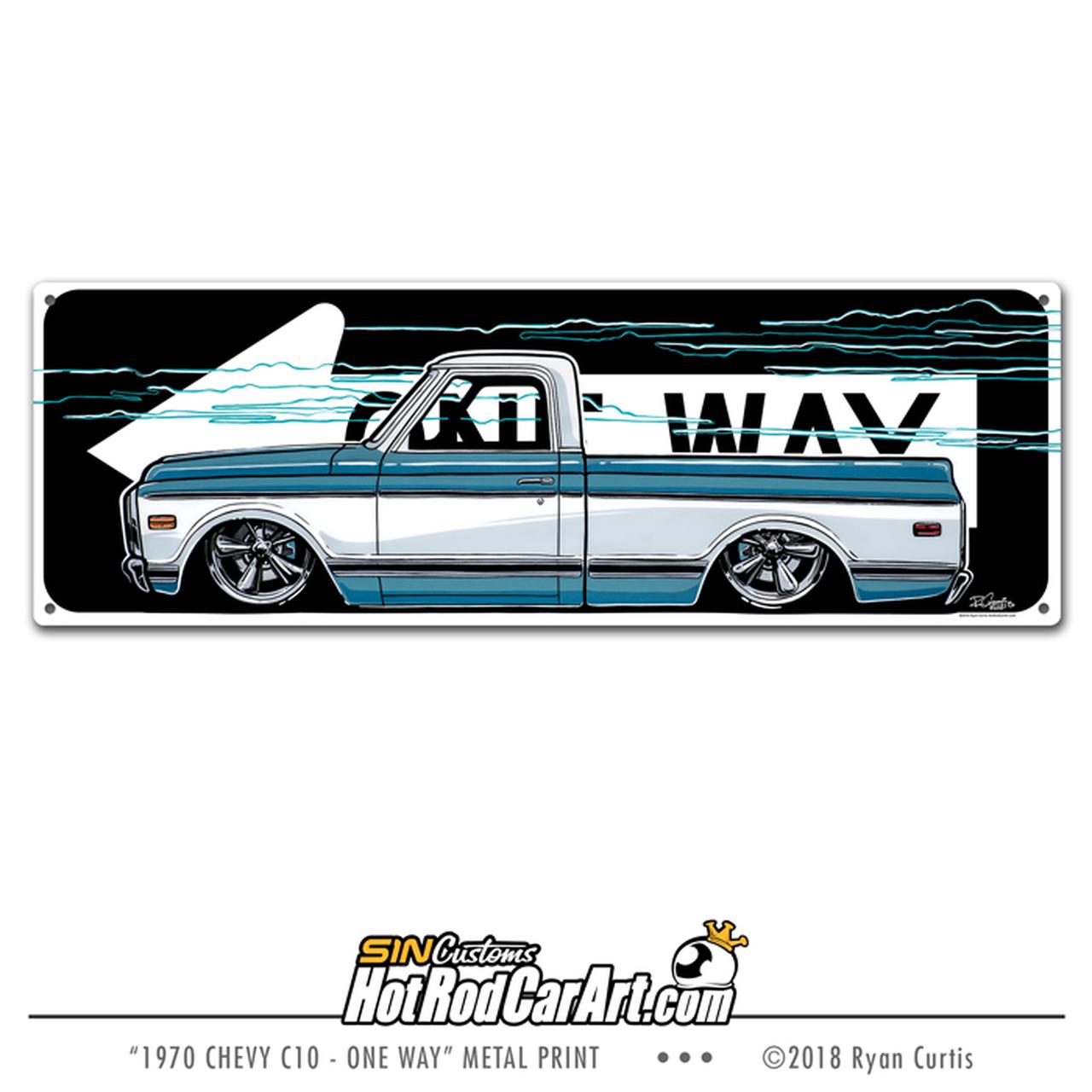 1970 Chevy C10 Pickup.
