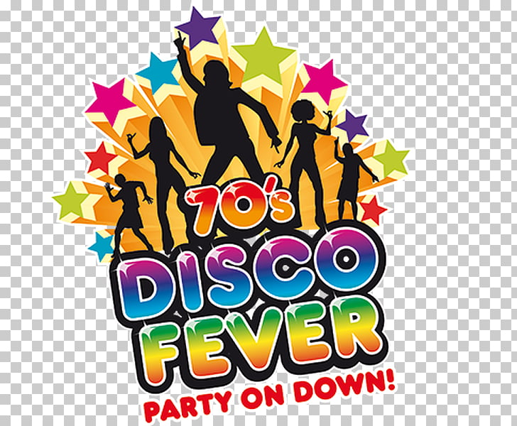 1970s Disco Music Night Fever Dance, party PNG clipart.