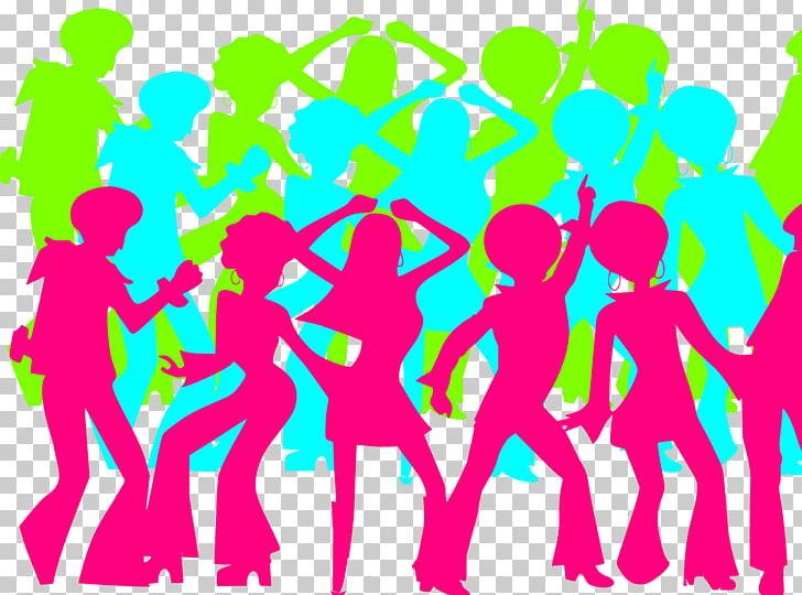Dance Party 1970s Nightclub Disco PNG, Clipart, 1970s, Area.
