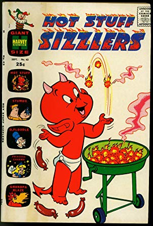 Amazon.com: HOT STUFF SIZZLERS COMICS #42 1970.