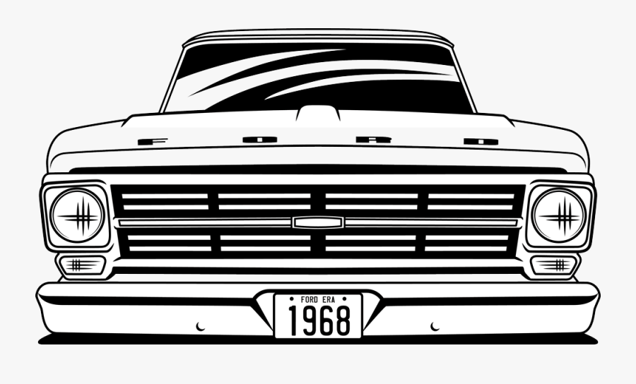 1970s Ford F100 Clipart , Free Transparent Clipart.