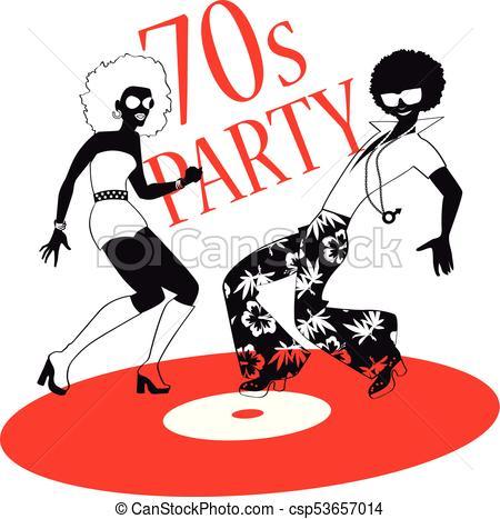 70s party clip.