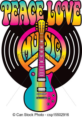 Peace Love Music Clipart Clipground
