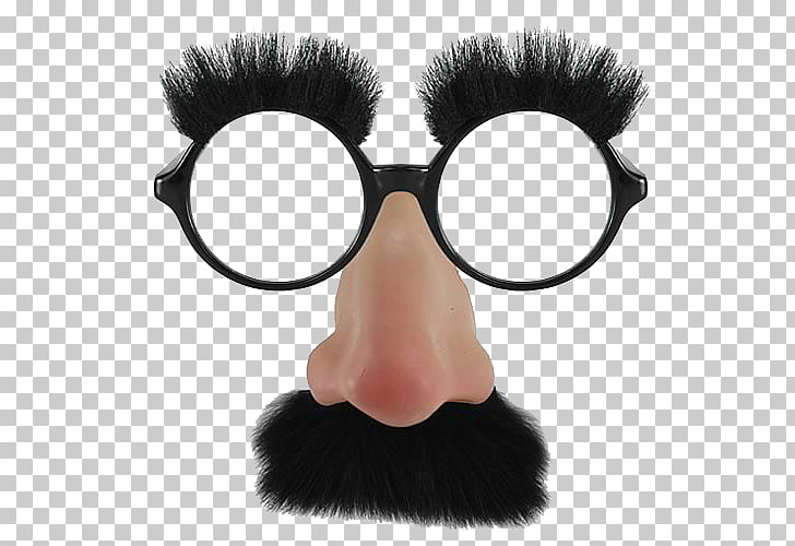 Groucho glasses Comedian Costume Disguise, noise PNG clipart.