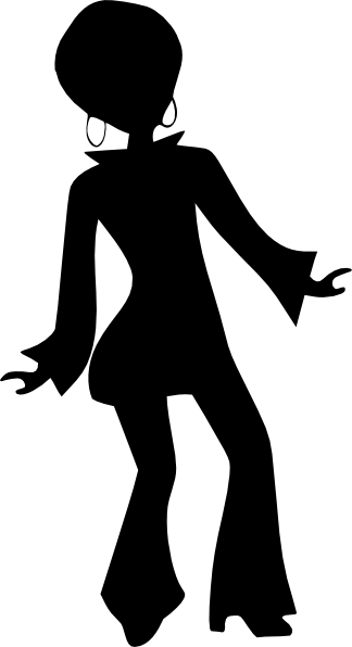 Disco Dancer Silhouette Cliparts Co in 2019.