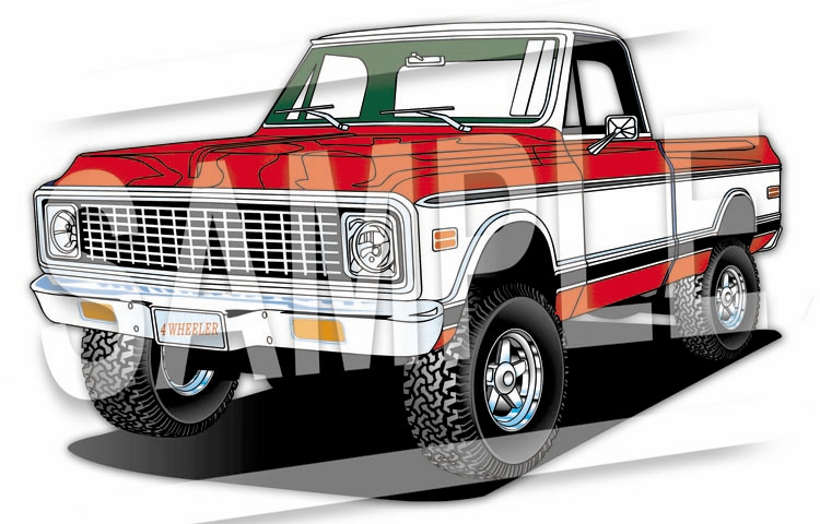 1971 Chevelle Ss Clipart.