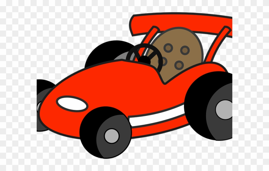Race Car Clipart Red.