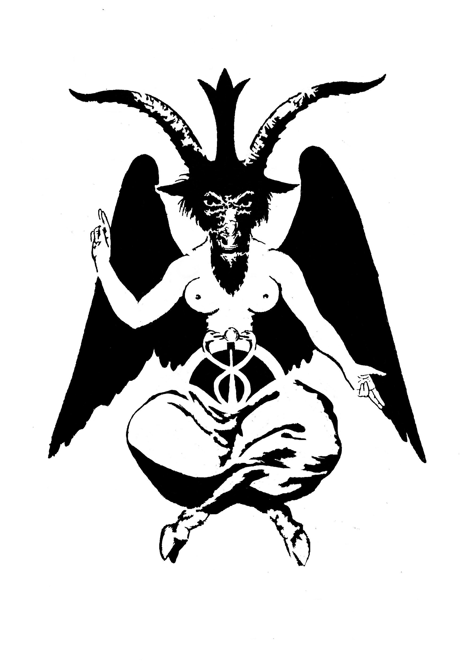 Baphomet clipart clipground baphomet clipart buycottarizona Images