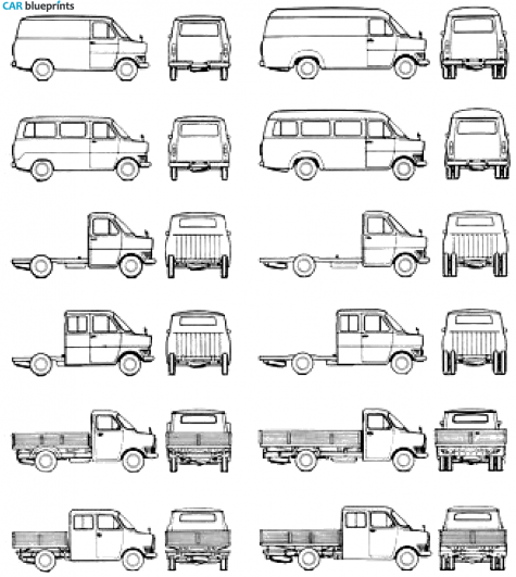 1976 Ford Truck Clipart.