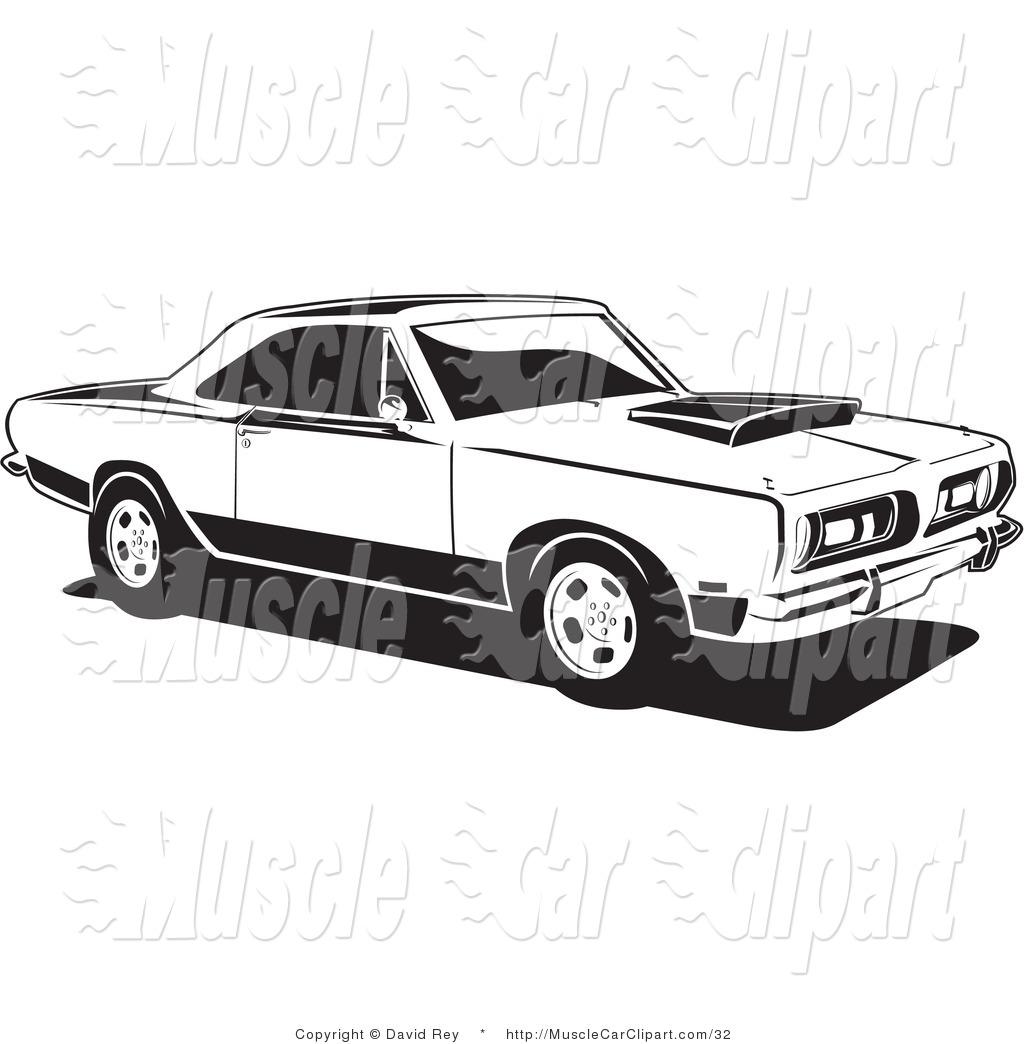 1976 car clipart.