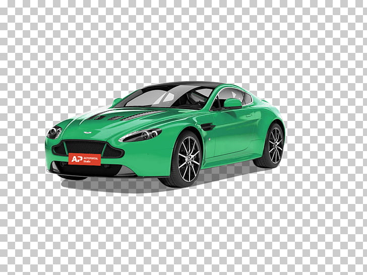 Aston Martin Vantage Compact car Automotive design, car PNG.