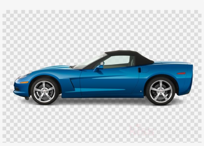 Convertible Clipart Car Chevrolet Corvette PNG Image.