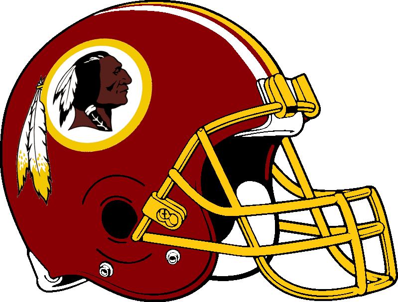 Redskins helmet clip art.