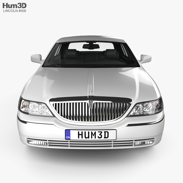Lincoln Town Car L 2011 3D model.