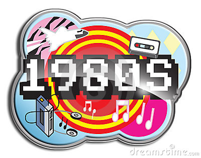 1980's clipart.