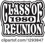 Class Of 1980 Clipart.